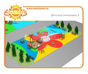 T0001 - Детская площадка 429 м2