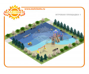 T0002 - Игровая площадка 15х15 м