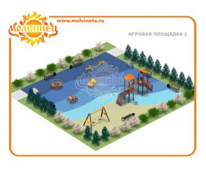 T0003 - Игровая площадка 15х15 м