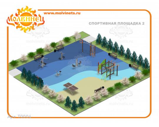 T0004 - Спортивная площадка 15х15 м