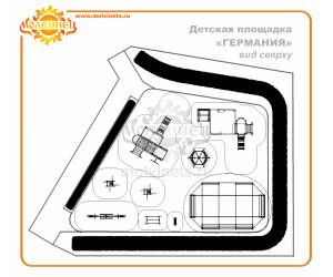 "T0006 - Тематическая площадка ""Германия"" 146 м2"