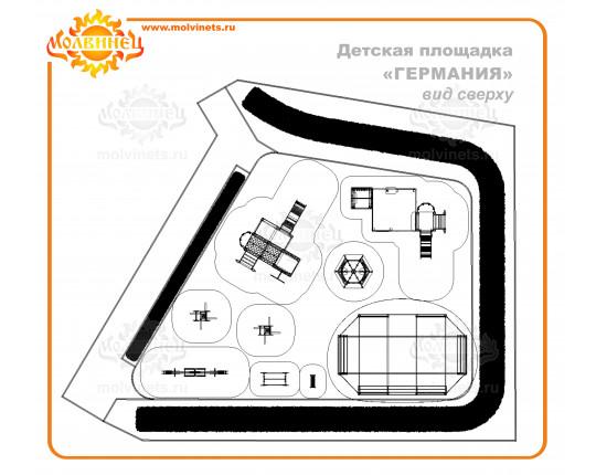 """R0003 - Тематическая площадка """"Германия"""" 146 м2"""