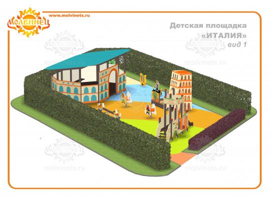 "T0007 - Тематическая площадка ""Италия"" 135 м2"