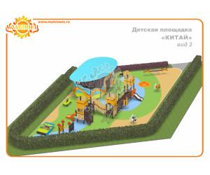 """T0008 - Тематическая площадка """"Поднебесная"""" 137 м2"""