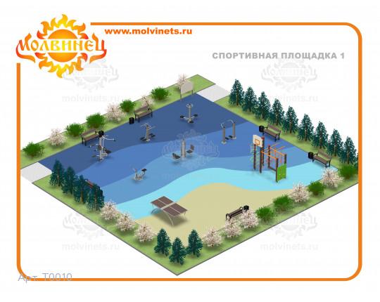 T0010 - Спортивная площадка 15х15 м