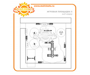 T0013 - Игровая площадка 15х15 м