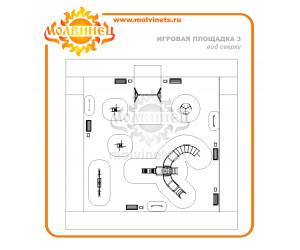 T0015 - Игровая площадка 15х15 м