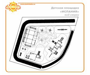 """T0017 - Тематическая площадка """"Испания"""" 149 м2"""