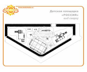 """T0019 - Тематическая площадка """"Россия"""" 144 м2"""