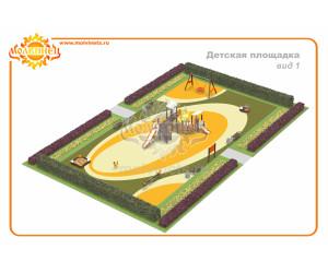 T0023 - Игровая площадка 325 м2