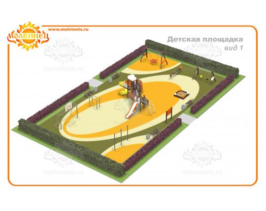 T0027 - Детская площадка 325 м2