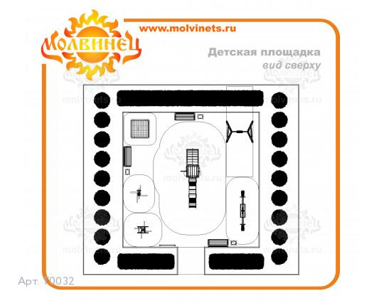 T0032 - Игровая площадка 99 м2