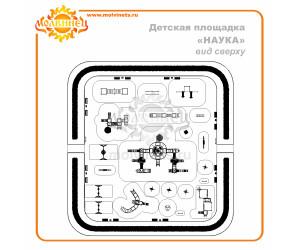 """T0034 - Тематическая площадка """"Наука"""" 1110 м2"""