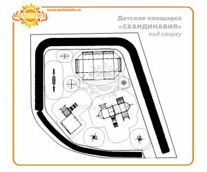 "T0038 - Тематическая площадка ""Скандинавия"" 149 м2"