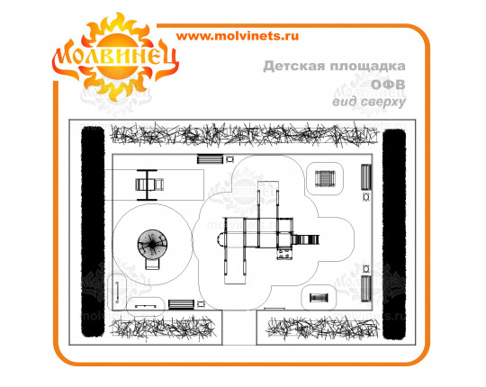 T0045 - Игровая площадка 135 м2