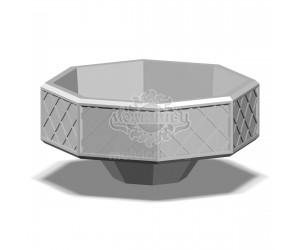 001400 - Вазон бетонный