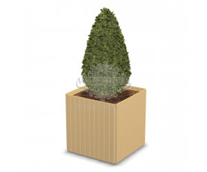 001413 - Вазон деревянный
