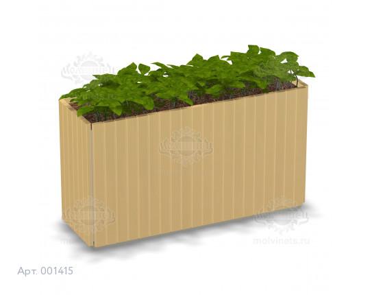 001415 - Вазон деревянный