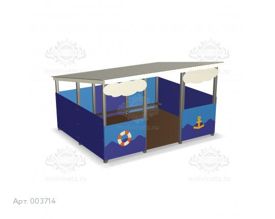 003714 - Теневой навес для детского сада