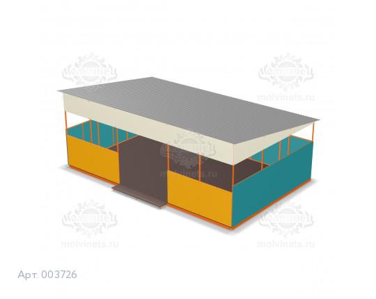 003726 - Теневой навес для детского сада