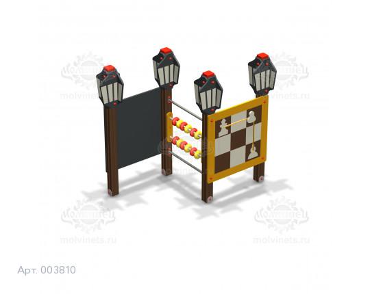 """003810 - Развивающий игровой элемент """"Шахматы"""""""