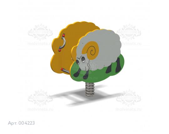 "004223 - Качалка на пружине ""Барашек"""