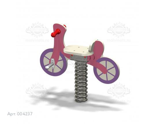 """004237 - Качалка на пружине """"Велосипед"""""""