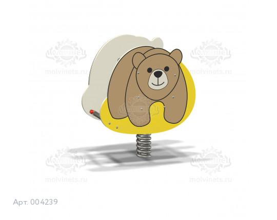 """004239 - Качалка на пружине """"Мишка"""""""