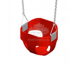 """004482 - Подвес цепной """"Колыбелька"""" в сборе (пластик)"""