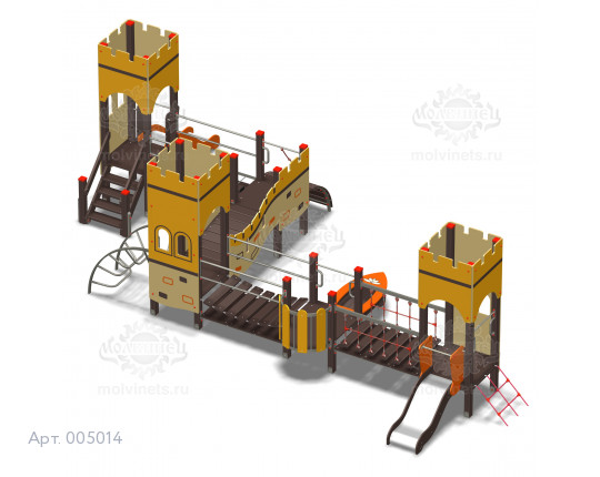 """005014 - Игровой комплекс """"Великая Китайская стена Мини"""""""