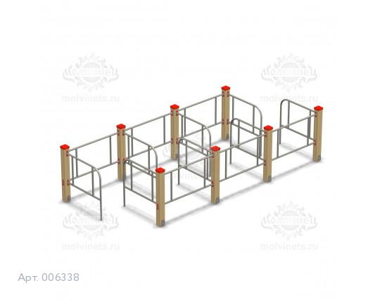 006338 - Детский игровой лабиринт