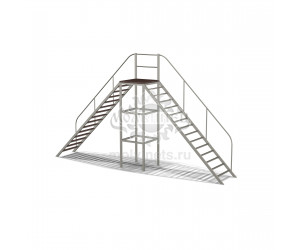 """008006 - Контактный снаряд """"Сквозная лестница"""""""