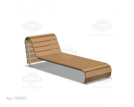 008101 - Парковый лежак