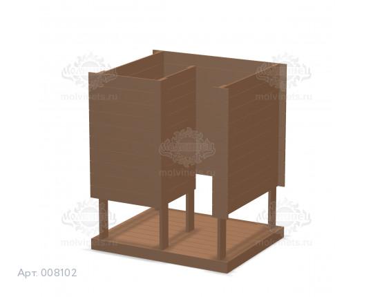 008102 - Пляжная раздевалка